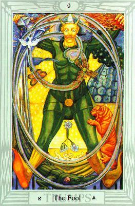 Narren ur Thoth Tarot