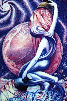 Stjärnan ur Thoth Tarot